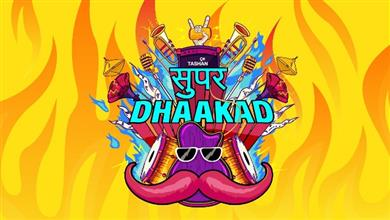 Super Dhaakad- A Haryanvi Music programming block ON 9x Tashan