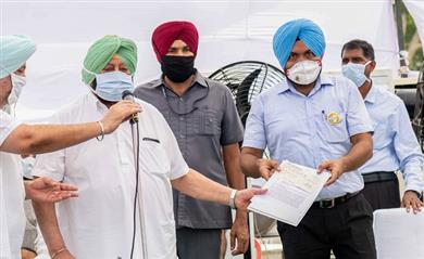 Punjab CM announces to enhance compensation to victim families of hooch tragedy to Rs .5 lakh