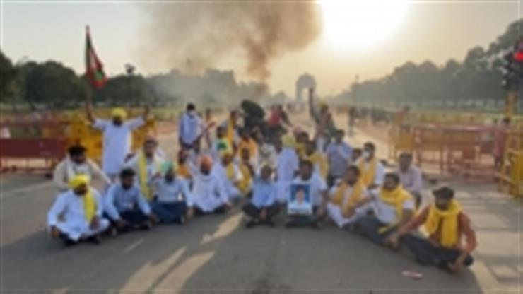 Punjab Youth Cong chief detained in Delhi's tractor-burning case