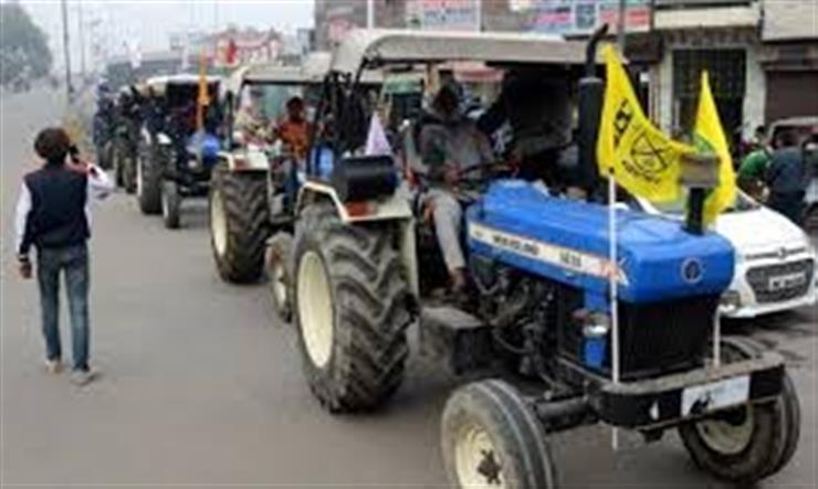 Decision on farmers' tractor rally on Saturday