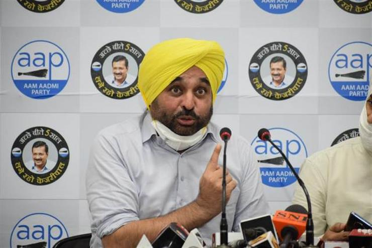 Modi government hell bent on diverting the peaceful agitation by not resolving issue, humiliating farmers: Bhagwant Mann