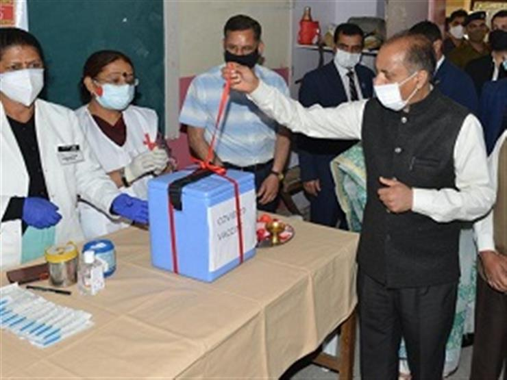 Himachal CM launches vaccination drive for 18-44 years age group