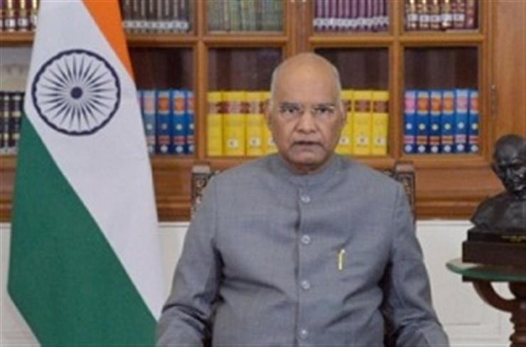 Cyber, space threats require upgraded technological responses: Prez Kovind
