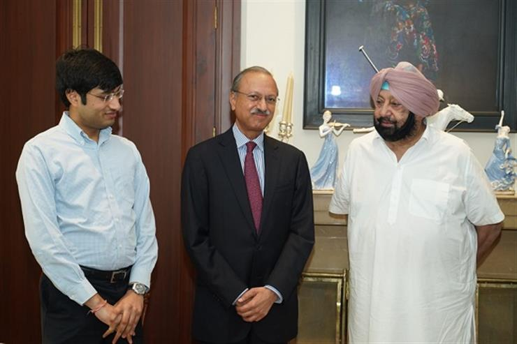 Punjab CM hands over 17 acre land allotment letter to JK group to set up cycle unit in Ludhiana