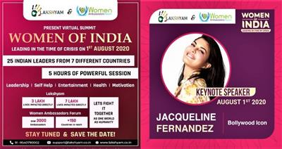 Lakshyam & Women's Ambassador Forum to organize Global Virtual Summit 'Women of India'
